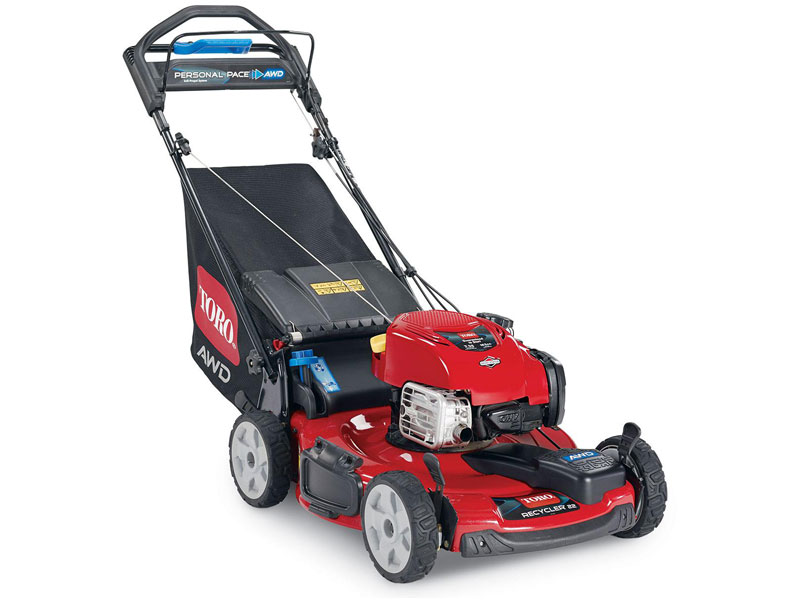 "Toro 22"" (56 cm) Personal Pace® Self-Propelled Recycler® All-Wheel Drive (20353)"